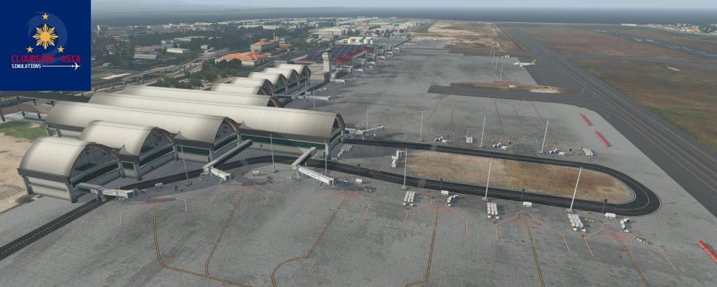 RPVM + Mactan Cebu Scenery for X-Plane 11 - CloudSurf Asia